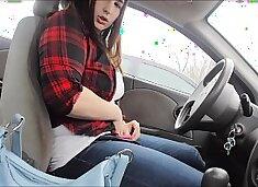 Public Masturbating In Car At Goodwill Parking Lot