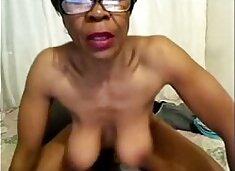 Ebony Granny Big Nipples Is Back