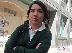 Jordi el niño polla and 18yo small titted schoolgirl fuck hard