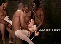 Maids b. group sex video scene