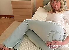 Bonde MILF picked up for long suck & pussy fuck big lips then anal assfuck
