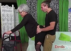 Fucking A Really Old Granny- Kelly Leigh