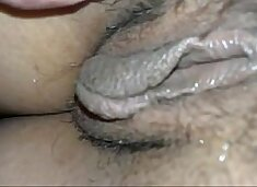 spreading my p. gf's pussy - Real s.!!!