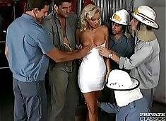 Monika Bella, the Firemen's Delight