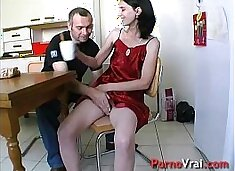 Creampie du foutre plein la chatte et dans le cul !! French amateur