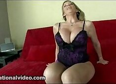 Busty Pornstar Sara Jay Shows Off Her Huge Ass