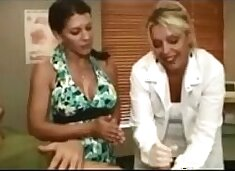 Getting a Handjob From His Doctor and his Mom (Stop Jerking Off! Try It: DailyFuck.org)