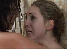 Lesbians love the shower - more videos on xxxnips.com