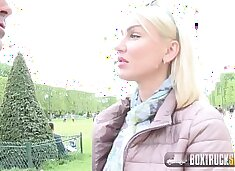 Hot MILF Elen Million has Sex in Public with the Photographer