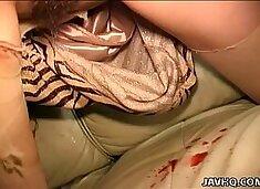 Busty slut Remi fucked while blindfolded