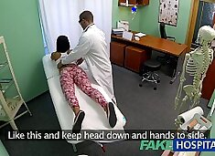 FakeHospital y. girl not on birth control bends over