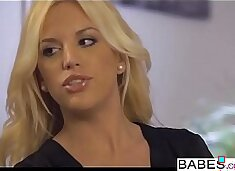 Babes - Step Mom Lessons - Movie Night starring Kai Taylor and Nekane and Blondie Fesser clip