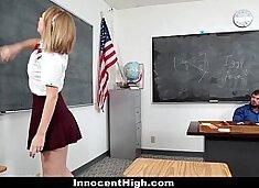 InnocentHigh - Teachers Pet (Iggy Amore) Gets A Creampie