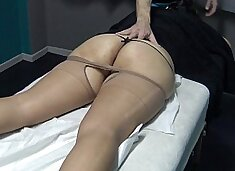 No Don't Fuck me i am Married ! Only Fingering my Pussy if you want but i have p. ! Brazilian Milf said to his Masseur and watch what happen ! (This is the Trial Video)