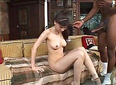 Jade Hsu vs. Mandingo huge black cock tight asian pussy