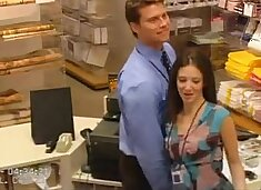 The Boss Is Fucking His Female Employees- more on  bitchescams.com