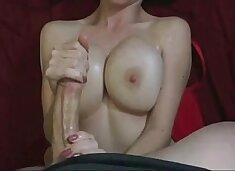 20yr Old Busty Girlfriend Getting Cum on Her Big Boobs
