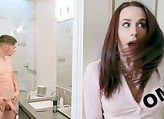 BANGBROS - Big Tits Stepmom Chanel Preston Takes Dick From Connor Kennedy